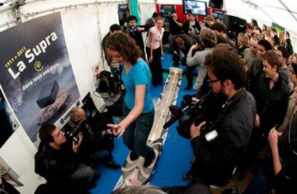 Французькі вчені створили левітуючий скейтборд (відео)