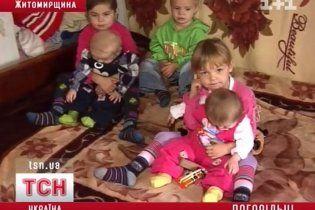 На Житомирщині двоє сестричок-дошкільнят врятували в пожежі трьох дітей