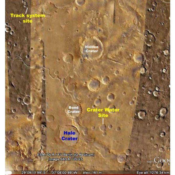 На Марсі знайшли залізницю і вокзал_4