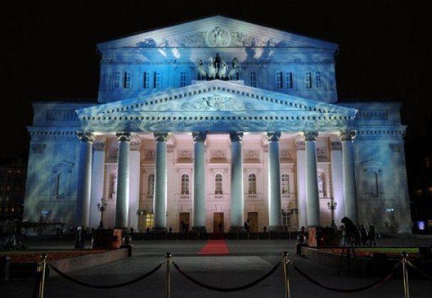 Медведєв і Моніка Белуччі на відкритті Большого театру