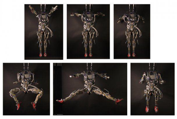 Американская армия вооружилась человекоподобными роботами (видео)