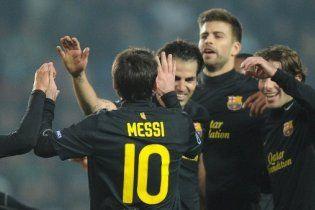 """""""Барселона"""" і """"Мілан"""" вийшли у 1/8 фіналу Ліги чемпіонів (відео)"""
