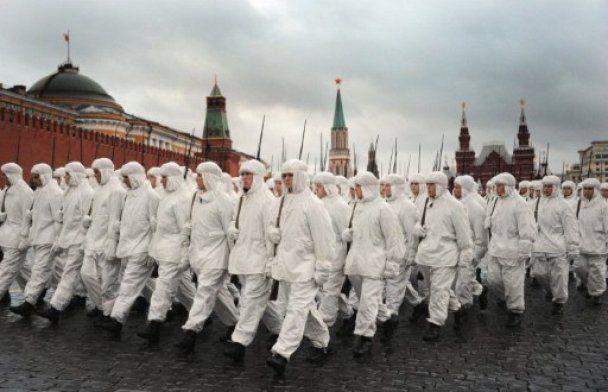 В Москве воссоздают парад 1941 года на Красной площади
