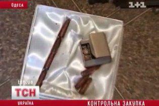 В Одессе спецназовцы штурмом брали оружейную мастерскую