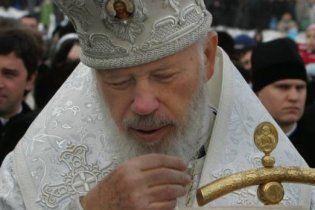 Митрополиту Володимиру стало краще, він причащався