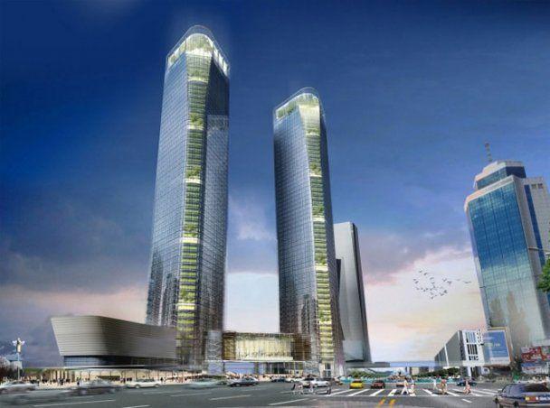 В Киеве строят 54-этажный небоскреб