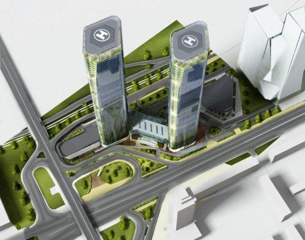 У Києві будують 54-поверховий хмарочос
