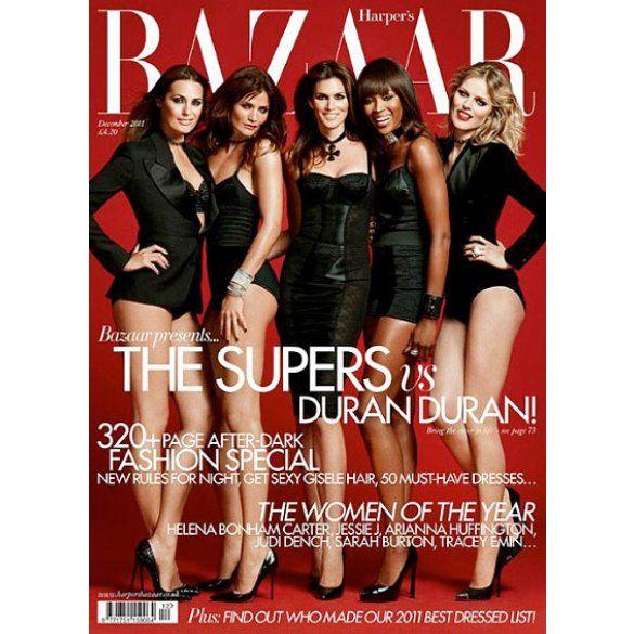 Супермоделі 90-х на обкладинці Harper's Bazaar