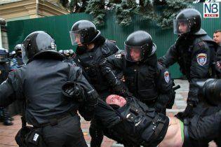 За избитого кастетом милиционера спросят с Катеринчука