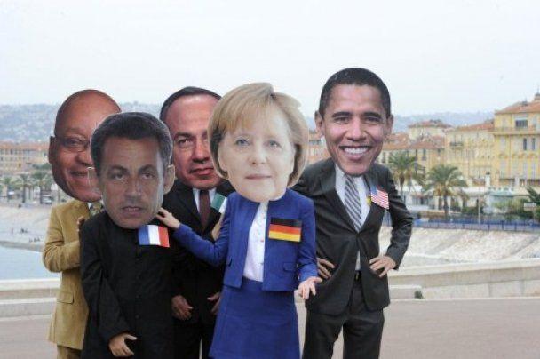 Світові лідери прибули до Канн на саміт G20
