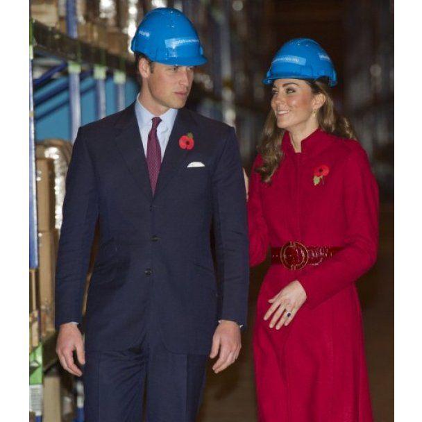 На принца Уильяма и Кейт Миддлтон в Копенгагене одели каски