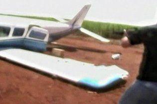 Бразильські поліцейські протаранили літак контрабандистів