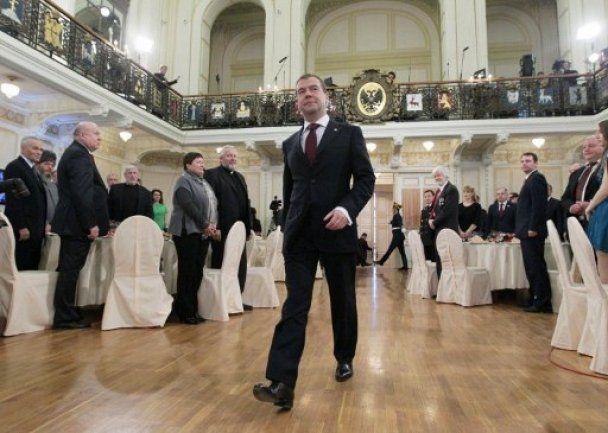 Медведєв і Путін відзначили День народної єдності