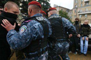 Милиция отпустила свободовцев, которые сорвали Русский марш
