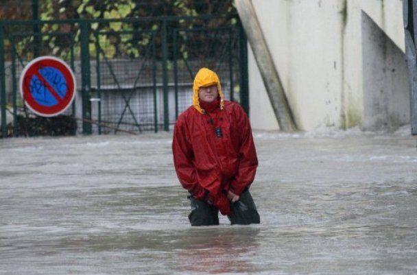 Південь Франції потерпає від дощів та сильної повені