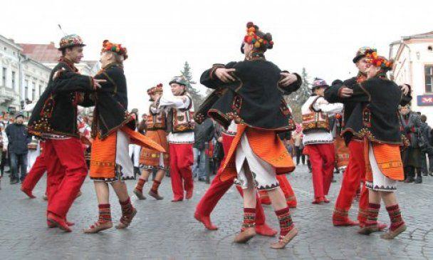 В Коломые установили танцевальный рекорд Украины