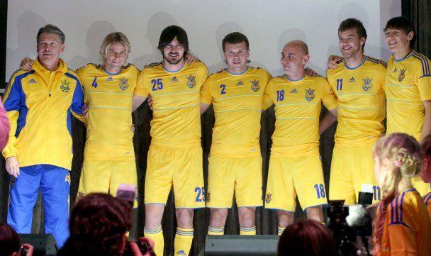 Збірна України отримала нову форму, в якій зіграє на Євро-2012