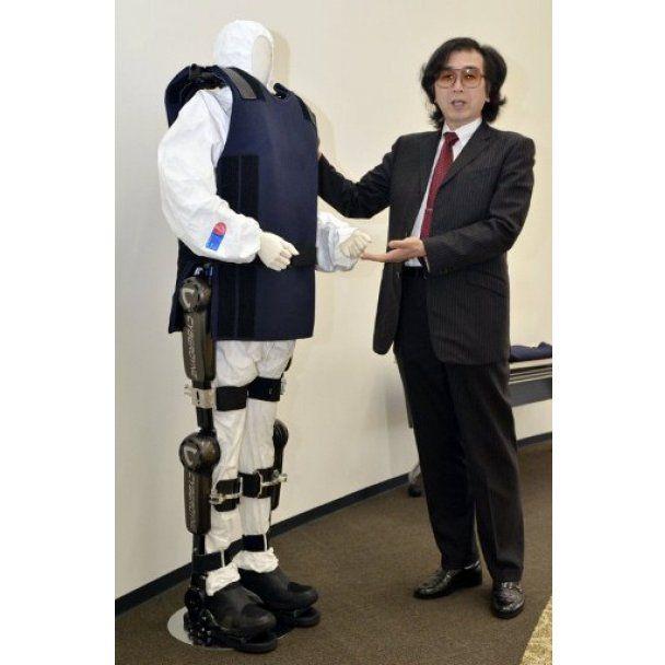 Японці створили екзоскелет із захистом від радиації