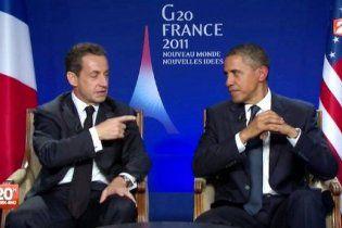 """Саркозі поскаржився Обамі, що прем'єр Ізраїлю - """"брехло"""""""