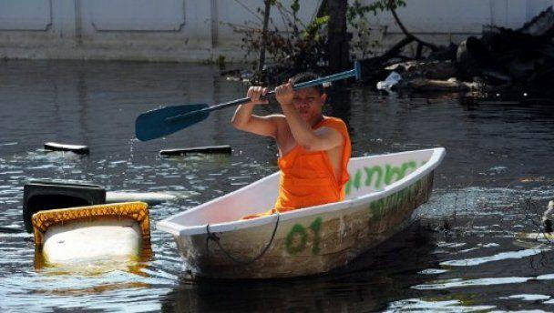 Азиатская Венеция: Бангкок уходит под воду
