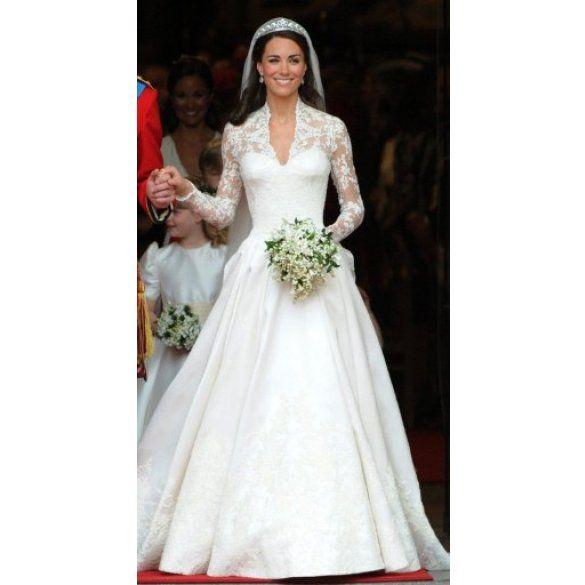 кейт міддлтон у весільній сукні_8