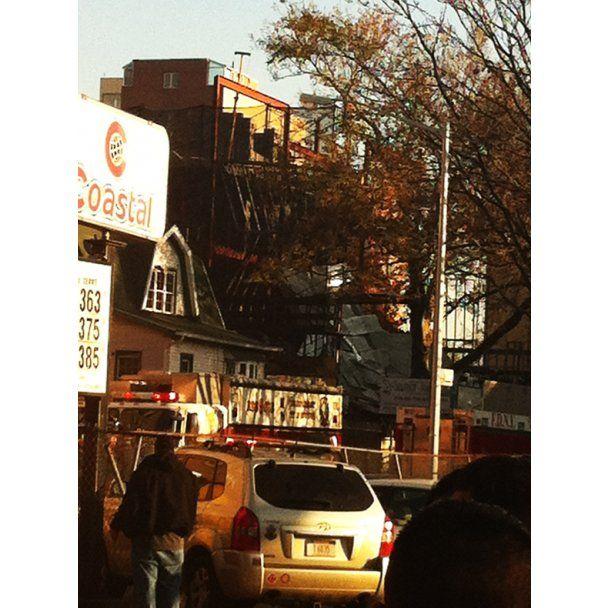 В Нью-Йорку обвалився п'ятиповерховий будинок
