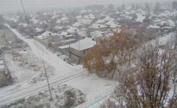 Донецьк вже засипало снігом