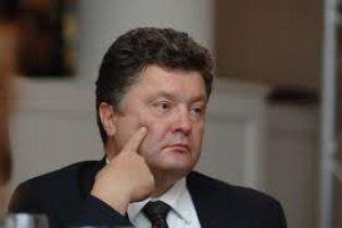 Порошенко открестился от финансирования Яценюка