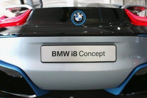У США показали перші концепт-кари BMW з вуглецю