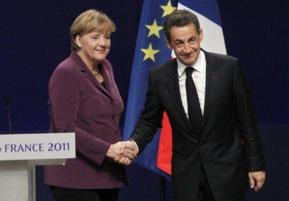 Ніколя Саркозі, Ангела Меркель