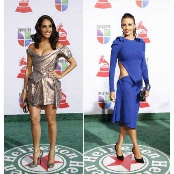 Горячие красотки прошли по красной дорожке Grammy Latino