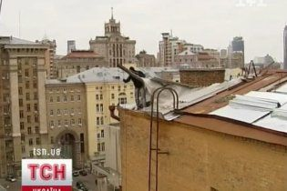 В центре Киева из-за подготовки к Евро затопило полдома