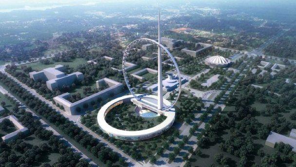У Москві з'явиться найвище в світі футуристичне колесо огляду
