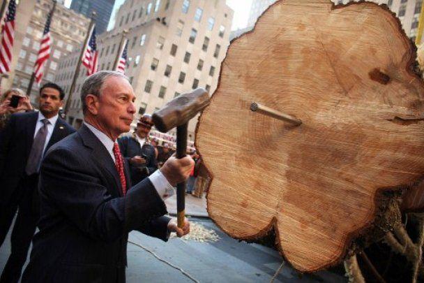 У Нью-Йорку встановили головну різдвяну ялинку США