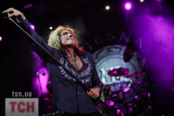 В Киеве выступила легендарная группа Whitesnake