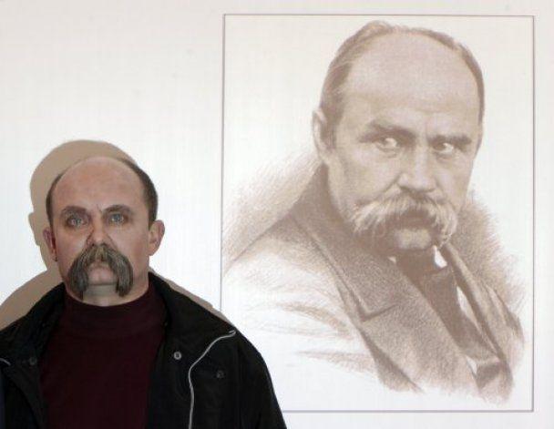 Двойником великого Кобзаря стал пенсионер из Чернигова