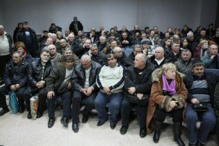 Голодовка чернобыльцев в Донецке: медики уже бьют тревогу