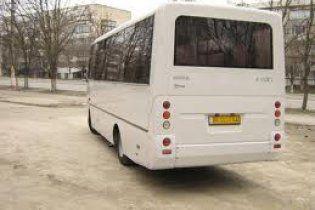 В Донецкой области загорелся автобус с 26 пассажирами