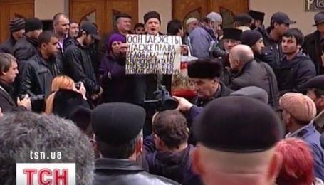 Импичмент объявили сегодня Мустафе Джемилеву