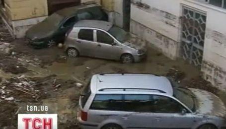 Наводнения и оползни на юге Италии