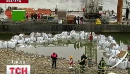 Обязательная эвакуация объявлена в немецком городе Кобленц