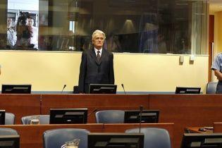 Через помилку прокурорів Караджичу не винесли обвинувачення