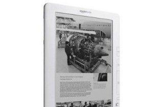 Amazon представив нову читалку Kindle DX