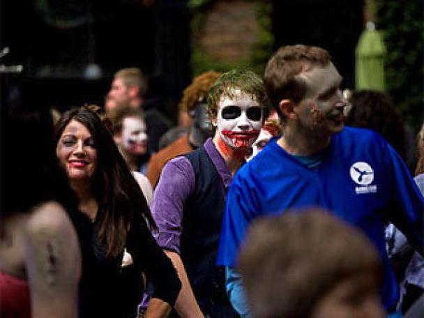 У Британії пройшов фестиваль зомбі
