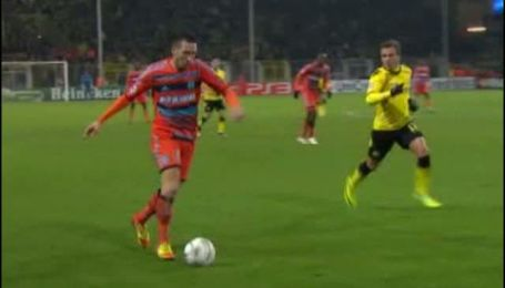 Боруссия Дортмунд - Олимпик Марсель - 2:3. Обзор матча