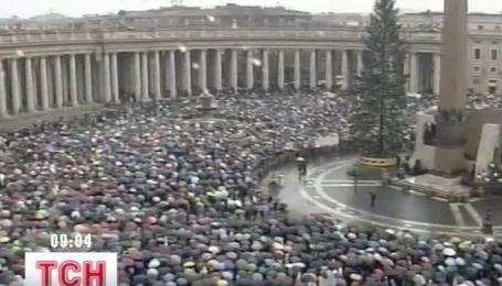 На площади Святого Петра засияют огни украинской елки
