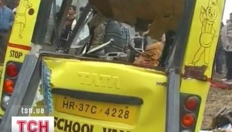 В Индии десять школьников стали жертвами ДТП