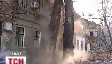 В центре Одессы обвалился многоквартирный дом