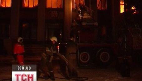 Два человека заживо сгорели в пожаре на донецкой табачной фабрике