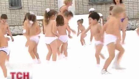 Дети-моржата на Житомирщине